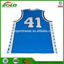 Custom Fully Dye Sublimated Jersey Basketball Design
