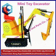 2015 Hot sale 2015 Children's Toys mini electric riding machines kids mini excavator amusement game