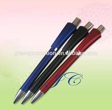 2015 New design environmental plastic ball pen