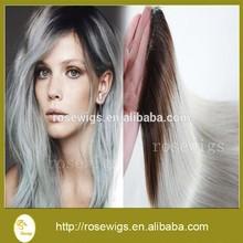 7A Brazilian Lace Closure Middle Part Hair Closure Brazilian Human Hair 4*4 Top Closure 1b/grey