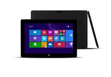 """10.1"""" 32GB Wi-Fi Windows 8 1.3 GHz Webcam Tablet PC -Gray"""