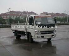 new foton van white new garbage truck