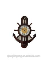 cheap simple wooden digital wall clock