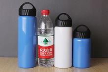 vacuum insulated double walled stainless steel 350ml 550ml sports water bottle China mass manufacture