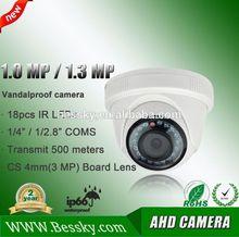720 P / 960 P / 1080 P alta definición 4ch dvr kit, 1.0 megapíxeles y 1.3 Megapixel AHD de la cámara, 1.0mp / 1.3mp AHD CCTV de la cámara