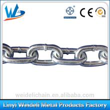 short/mediun/long ordinary mild steel link chain factory/manufacturer