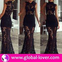 2015 top quality ghana dress styles