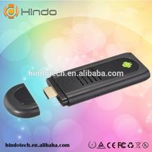 Dual Core Android TV Stick BOX 1GB RAM 8GB ROM Bluetooth 1080P MINI PC Double External WIFI Antenna