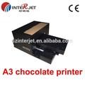 chocolate digital impressora com cabeçote 1390