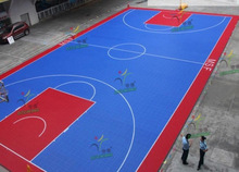 professional High-strength indoor PP Interlock Basketball