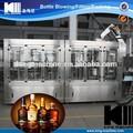 Automática de licor/vino tinto/alcohol línea de llenado/máquina de embotellado