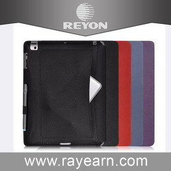 Super quality stylish rock series leather case for ipad air 2