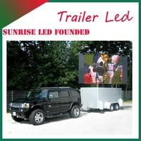 Sunrise 2015 Hot-selling P10/P8 LED Mobile truck advertising