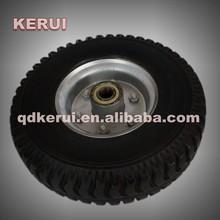 long life rubber small pneumatic wheels