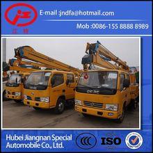 Dongfeng DFAC xiaobawang aerial platform truck vehicles (JDF5050JGK 14m aerial platform truck)