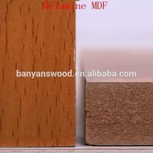 HOT SALE MELAMINE MDF WOOD GRAIN MDF FURNITURE 18MM THICKNESS