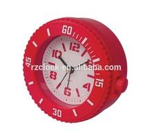 2015 New Unique Plastic Watch Design table alarm clock