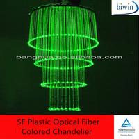 SF Plastic Optical Fiber Colored Chandelier