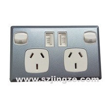 Standard Grounding Switch Socket power point cover