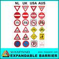 promocional logotipo personalizado de segurança de tráfego sinais e símbolos