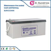 tracking 12v 24ah rechargable lead acid battery