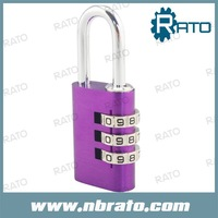 RP-146 colorful changing combination padlock