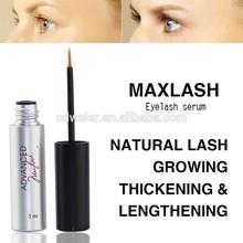 MAXLASH Natural Eyelash Growth Serum (extra fine point tweezers / eyelash extensions)