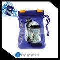 venta bajo alta calidad smartphone suave del pvc bolsa a prueba de agua teléfono celular caso seca con la correa