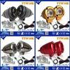 Y&T 10w motorcycle led lighting, headlights wiring harness, 12v 35w hid bi xenon projector lens light car