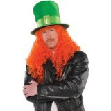 St. Patrick's Day 100th east asia hair football fan front lace wig italian yaki