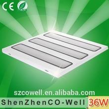 600*600 220v high lumens full power 36W grid ceiling light