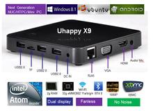 mini pc 1080p rj45 intel Atom Bay-trail CPU 3735F Windows8 OS 2GB RAM and 32GB Flash HDD