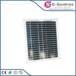 portable small home bct best price per watt 165w poly pv solar panel
