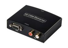 HDMI to VGA converter box 1080P With R/L Audio