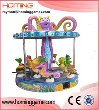2015 hot sale amusement carousel rides/ amusement rides ocean merry go round for sale