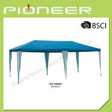 3 X 6M Blue Polyester Cloth Party Wedding Tent Gazebo Canopy Blue