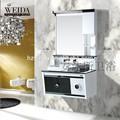 Hotest 2015! Baratos de diseño profesional de melamina europea pintado vanidad cuarto de baño del gabinete