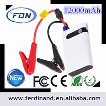 china manufacturer vehicle emergency tool, 12000mah emergency car portable battery jump starter