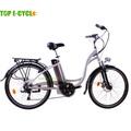 Topecycle fashional e de la bici, Larga worklife de la batería para la bici eléctrica