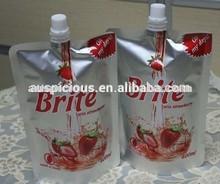 red Lemon 400ml spout bag
