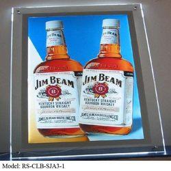 High quality popular acrylic led crystal light frame