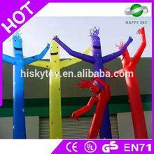 2015 Brand New Design Hot Sale inflatable advertising man, air dancers wholesale, desktop air dancer