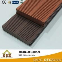 OD-140H-25 Welcomed Wood Plastic Composite Slats