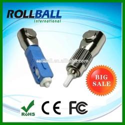 High quality SC ST LC FC bare fiber optic adapter