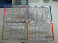 Cute Desk Ornament Basket Mini Shopping Basket RH-SX09