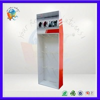 8 years factory easy-assembling attractive mobil phone charger display stand for promotion