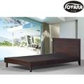 bon prix mobilier de chambre de luxe en bois taille unique lit en bois avec tiroir vente chaude