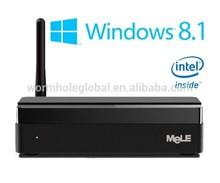 MeLE PCG03 Window 8.1 Qaud Core Intel Z3735F 64bit Dual Mon HD VGA HDMI MINI PC