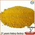 Sintético óxido de hierro amarillo 313( ci 77492) para la pintura de tráfico/concreto/cauchos/de cuero/colorante del tinte