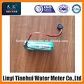 3.6 V bateria de lítio para medidor de água pré pago